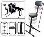 Odyssey DJCHAIR Adjustable Dj Chair from Odyssey Innovative Designs
