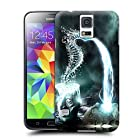 Longcase stone faces water seahorse fountain TPU cell phone case for samsung galaxy s5