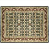 Darcy Black / Red Oriental Rug Size: 8'6