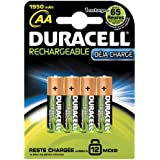 Duracell - Pile Rechargeable - AAx 4 - Stay Charged - 1950 mah - (HR6)