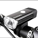 Sunspeed USB充電式LED防水自転車ヘッドライト CREE XPE搭載 360°回転可能 4モード ドイツStVZO前照灯規格適合品 取り付け簡単 強力省エネ フロントライト