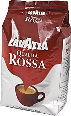 Lavazza Qualita Rossa Coffee Beans, 1000g