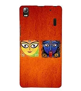 Kali Bhajan Maa Kali Kolkatta Wali 3D Hard Polycarbonate Designer Back Case Cover for Lenovo K3 Note
