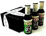 Try Me Tiger Sauce, 5 oz Bottles in a Gift Box (Pack of 3)