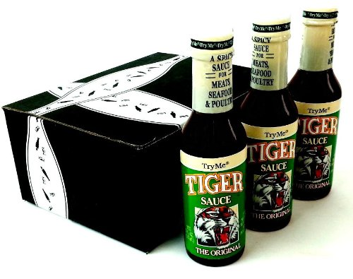 Try Me Tiger Sauce, 5 oz Bottles in a Gift Box