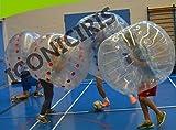 FREE SHIPPING Inflatable Bumper Bubble Balls Body Zorb Ball Soccer Bumper Football 1.5m Blue