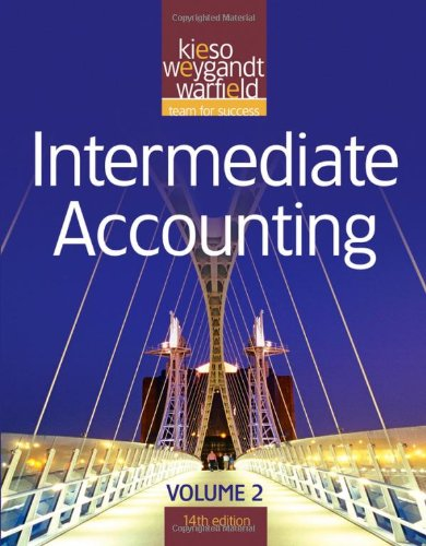 Intermediate Accounting, Vol. 2, 14th Edition (Volume 2)