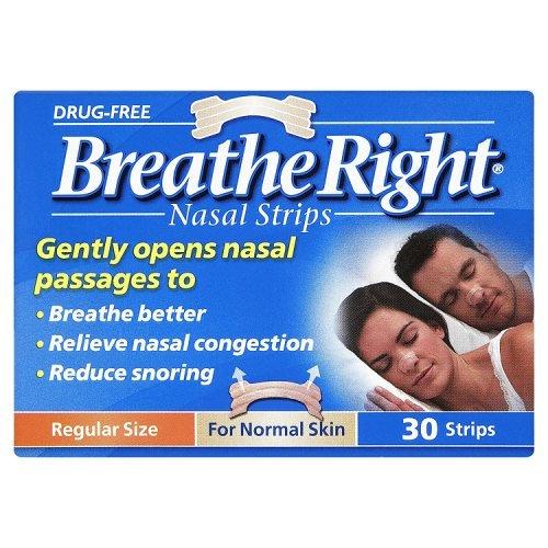 Breathe Right Nasal Strips Natural Regular  30