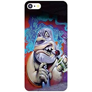 Apple iPhone 5C - Toon Matte Finish Phone Cover