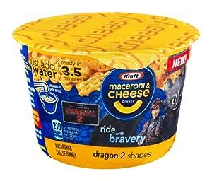 Amazon.com : Kraft How To Train Your Dragon Shapes Macaroni & Cheese Dinner 1.9 oz : Macaroni