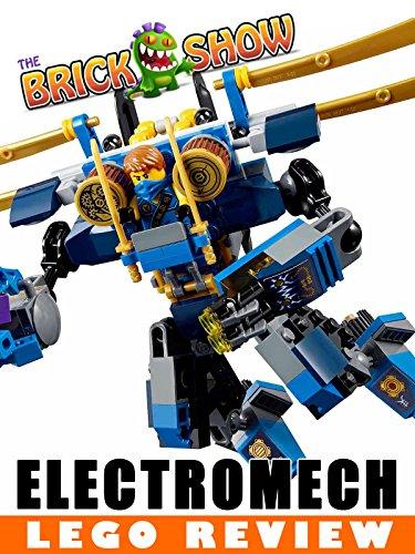 LEGO Ninjago Electromech Review, Set 70754