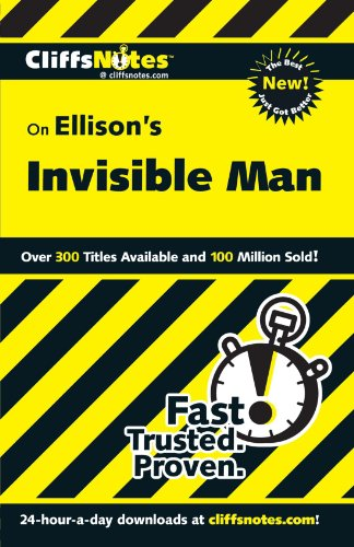 On Ellison'S The Invisible Man (Cliffs Notes) front-138871