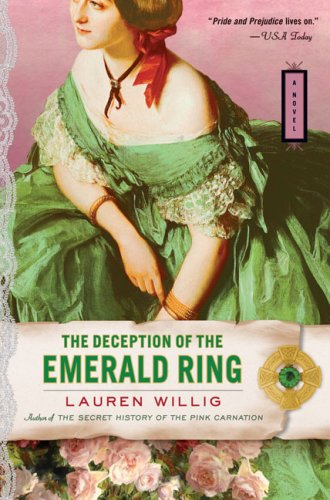 Cover of The Deception of the Emerald Ring (Pink Carnation)