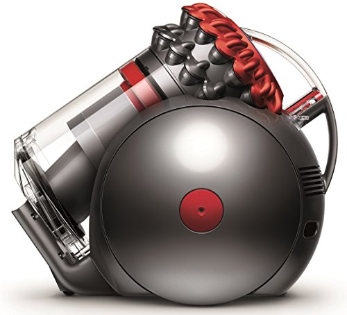 Dyson Cinetic Big Ball Allergy Cylinder vacuum Azul, Plata, Transparente - Aspiradora...