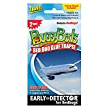 Bed Bug Trap - BuggyBeds Travel Glue Traps (2 Pack) - Detect Before Infestation
