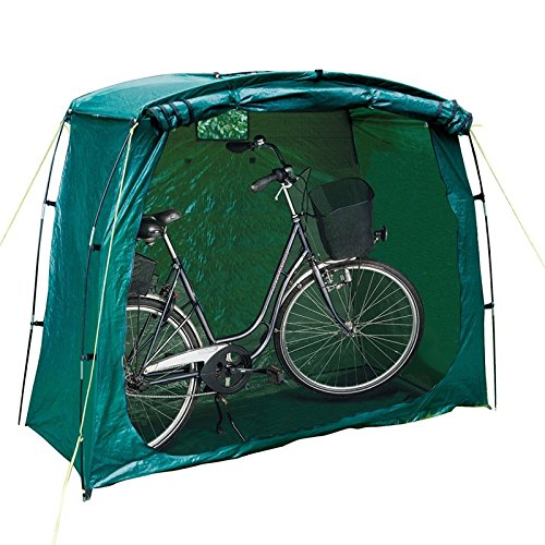 Green Bicycle Bike Storage Protective Cover Tent Shed