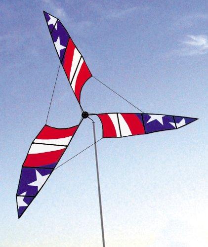 6.5-Ft. Stars And Stripes Patriotic Wind Generator