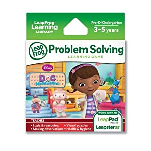 LeapFrog Disney Doc McStuffins Learning Game (works with LeapPad Tablets and Leapster GS) by LeapFrog