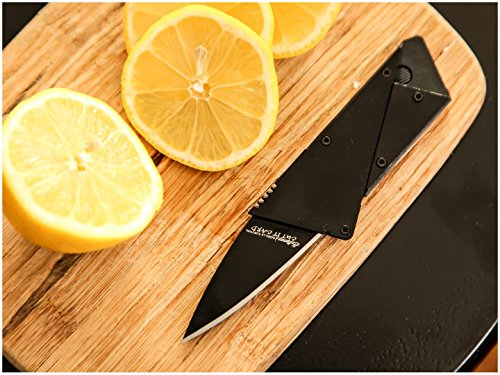Credit Card Sized Folding Wallet Knife- This Is the Perfect Pocket or Survival Tool, and It Looks Great with Durable,