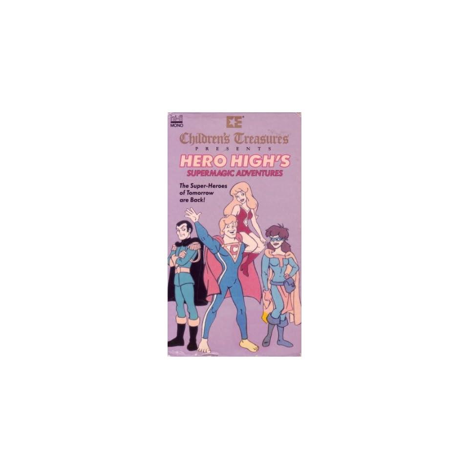 Hero Highs Supermagic Adv. [VHS] Animated Movies & TV