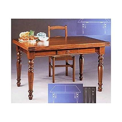 estea meubles-Table Bois Massif extensible-Divers Couleurs-505à