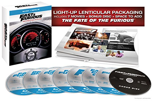 Blu-ray : Fast And Furious: The Ultimate Ride Collection (Limited Edition, Boxed Set, Ultraviolet Digital Copy, Digitally Mastered in HD, Digital Copy)