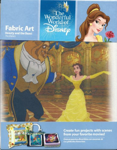 The Wonderful World of Disney Fabric Art Beauty and the Beast - 1