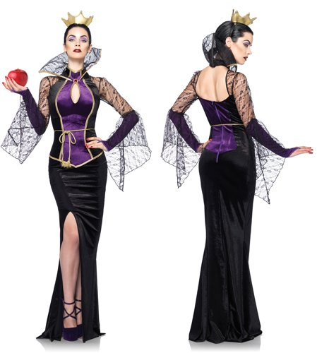 Disney 3Pc.Evil Queen Costume