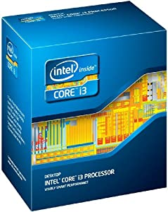 Intel i3-2120 Sandybridge Core i3 Dual-Core Processor ? 3.30GHz, 3MB Cache, Socket 1155, 3 Year Warranty, Retail Boxed