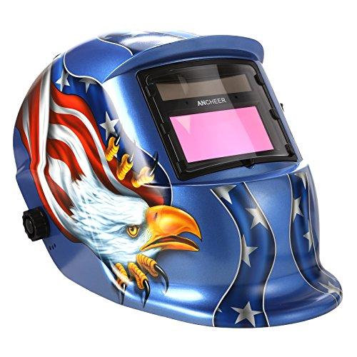 Coocheer Solar Arc Tig Mig Auto-Darkening Welding Helmet MIG TIG ARC Professional Mask