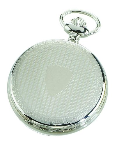 Charles-hubert, Paris Charles-hubert Paris Stainless Steel Automatic Pocket Watch