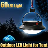 Gbargain 60 LED Portable Camping light Tent Umbrella Night light Lamp Lantern Outdoor camping hiking LED