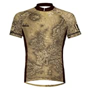 Primal Wear Lost Antique Map Cycling Jersey