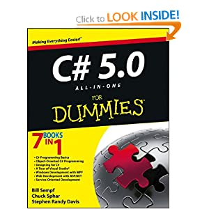 C# 5.0 All-in-One For Dummies (For Dummies (Computer/Tech))