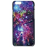 JIAXIUFEN Space Nebule Universe Pattern Hard Plastic Case Cover For Apple Iphone 6