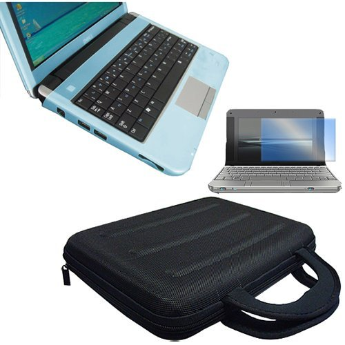 Dell Inspiron Mini 9 Series Laptop Accessory Combo Bundle Pack Blue Silicone
