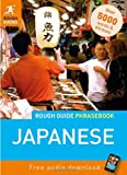 Rough Guide Japanese Phrasebook (Rough Guide Phrasebook: Japanese)