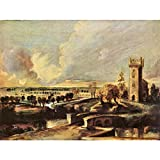 Art Panel - Landscape With The Tower Of The Castle Steen By Rubens