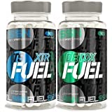Simply Sport Nutrition XTR FUEL Fatburners & DETOX FUEL Strong Slimming Tablets - Detox Diet Pack