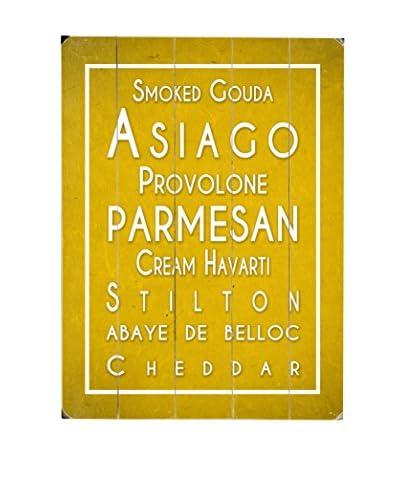 Cheese List Wood Wall Décor