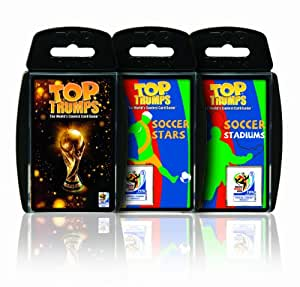2010 FIFA World Cup Top Trumps Bundle Pack Card Game
