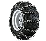 Husqvarna 954050201 Snow Thrower Tire Chains Pair, 20-Inch by 10-Inch by 8-Inch