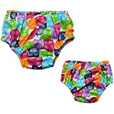 Swim Diapers For Baby Girl ,1 Pack,Size M,9~12 Months,