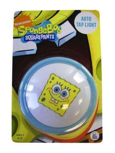 Spongebob Squarepants Night Light - Push Light - Baby Sleep Aid