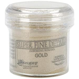 Ranger Super Fine Embossing Powder 1-Ounce, Gold