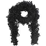 Luxury Divas Soft Wispy Lace Knit Scarf