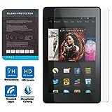 ATiC Amazon Kindle Fire HD 6 2014専用強化ガラス液晶保護フィルム 表面硬度9H/2.5Dラワンド処理/耐衝撃/高透明度/指紋防止/気泡ゼロ 透明 (一枚) ランキングお取り寄せ