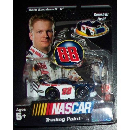 "Dale Earnhardt Jr. #88 Nascar Trading Paint Toy 3"" National Guard Racing Car"