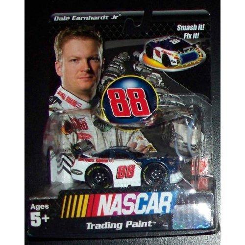 "Dale Earnhardt Jr. #88 Nascar Trading Paint Toy 3"" National Guard Racing Car"