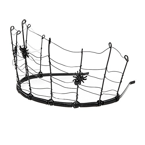 Claire's Accessories Girls Halloween Spider Web with Spiders Crown